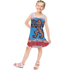 Coat of Arms of Bulgaria (1968-1971) Kids  Tunic Dress