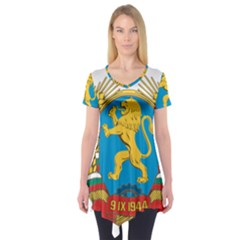 Coat of Arms of Bulgaria (1948-1968) Short Sleeve Tunic