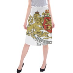Coat of Arms of Bulgaria (1927-1946) Midi Beach Skirt