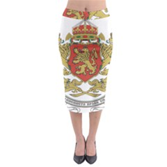 Coat of Arms of Bulgaria (1927-1946) Midi Pencil Skirt