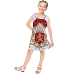 Coat of Arms of Bulgaria (1881-1927) Kids  Tunic Dress