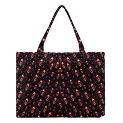 Skulls In The Dark Night Medium Tote Bag