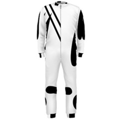 Freestyle Skiing Pictogram Onepiece Jumpsuit (men)