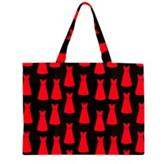 Dresses Seamless Pattern Large Tote Bag