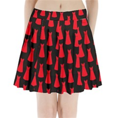 Dresses Seamless Pattern Pleated Mini Skirt