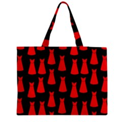 Dresses Seamless Pattern Medium Tote Bag
