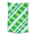 Fabric Cotton Geometric Diagonal Small Tapestry View1