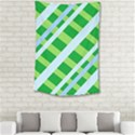 Fabric Cotton Geometric Diagonal Small Tapestry View2