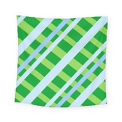 Fabric Cotton Geometric Diagonal Square Tapestry (small)