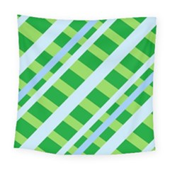 Fabric Cotton Geometric Diagonal Square Tapestry (large)