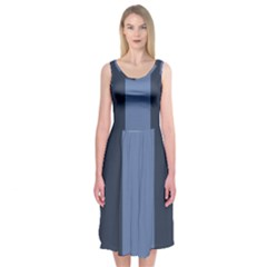 Fibonacci Midi Sleeveless Dress