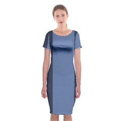Fibonacci Classic Short Sleeve Midi Dress