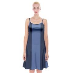 Fibonacci Spaghetti Strap Velvet Dress