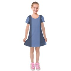 Fibonacci Kids  Short Sleeve Velvet Dress