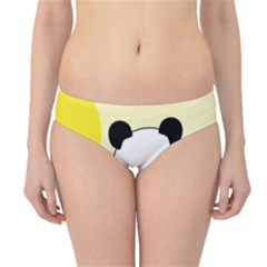 First Birthday Panda Card Hipster Bikini Bottoms