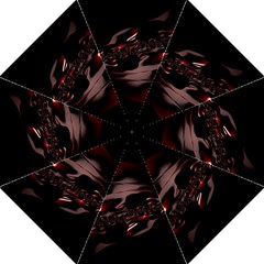 Fractal Mathematics Abstract Folding Umbrellas