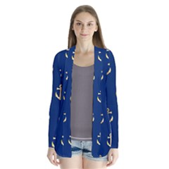Gold Anchors Background Cardigans