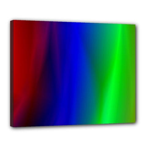 Graphics Gradient Colors Texture Canvas 20  x 16