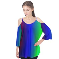 Graphics Gradient Colors Texture Flutter Tees