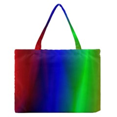 Graphics Gradient Colors Texture Medium Zipper Tote Bag