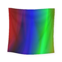 Graphics Gradient Colors Texture Square Tapestry (small)