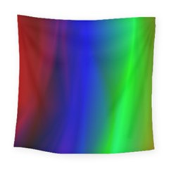 Graphics Gradient Colors Texture Square Tapestry (large)