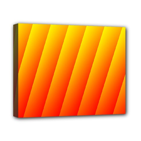 Graphics Gradient Orange Red Canvas 10  x 8