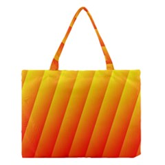 Graphics Gradient Orange Red Medium Tote Bag