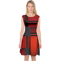 Hintergrund Tapete Capsleeve Midi Dress