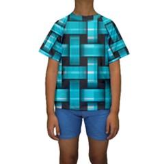 Hintergrund Tapete Kids  Short Sleeve Swimwear