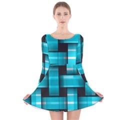 Hintergrund Tapete Long Sleeve Velvet Skater Dress