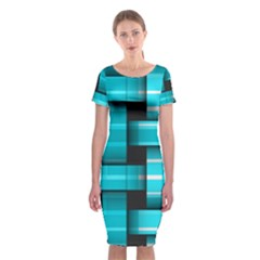 Hintergrund Tapete Classic Short Sleeve Midi Dress