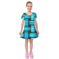 Hintergrund Tapete Kids  Short Sleeve Velvet Dress