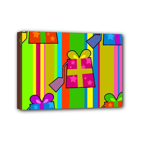 Holiday Gifts Mini Canvas 7  x 5