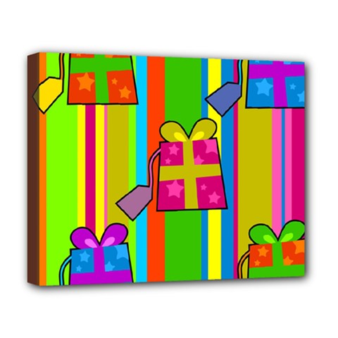 Holiday Gifts Deluxe Canvas 20  x 16