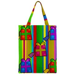 Holiday Gifts Zipper Classic Tote Bag