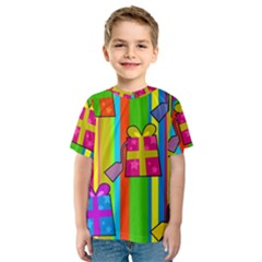 Holiday Gifts Kids  Sport Mesh Tee