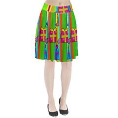 Holiday Gifts Pleated Skirt