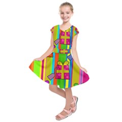 Holiday Gifts Kids  Short Sleeve Dress