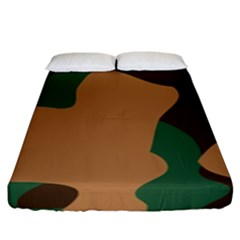 Military Camouflage Fitted Sheet (king Size)