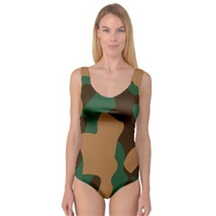 Military Camouflage Princess Tank Leotard