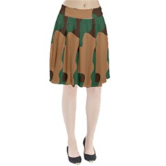 Military Camouflage Pleated Skirt