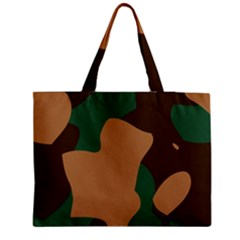 Military Camouflage Medium Tote Bag
