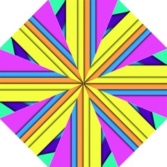 More Color Abstract Pattern Folding Umbrellas
