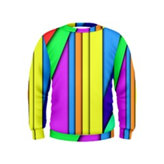 More Color Abstract Pattern Kids  Sweatshirt