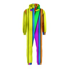More Color Abstract Pattern Hooded Jumpsuit (Kids)