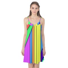 More Color Abstract Pattern Camis Nightgown