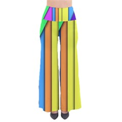 More Color Abstract Pattern Pants