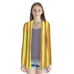 More Color Abstract Pattern Cardigans