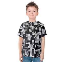 Noise Texture Graphics Generated Kids  Cotton Tee